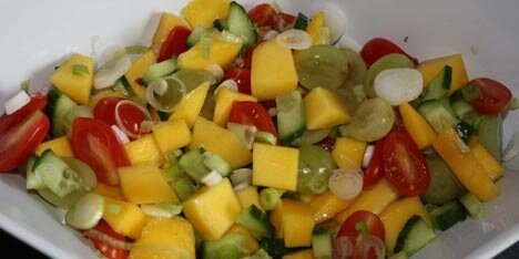 salater med frugt