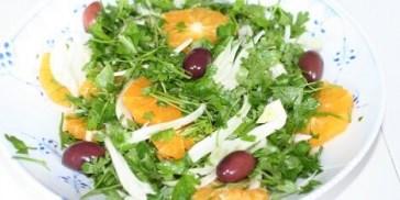 appelsinsalat til flæskesteg