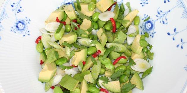 Asiatisk Avocadosalat