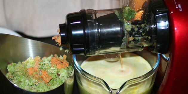 Slow Juicer Opskrifter Med Broccoli : Juice med broccoli