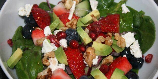 frisk salat