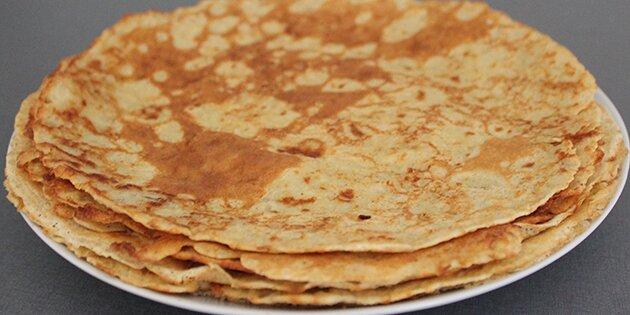 sunde tortilla pandekager opskrift