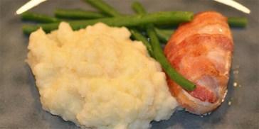 Bagt Kartoffelmos Med Æg kartoffelmos - opskrifter på kartoffelmos
