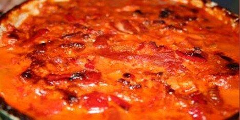 mad med tomater