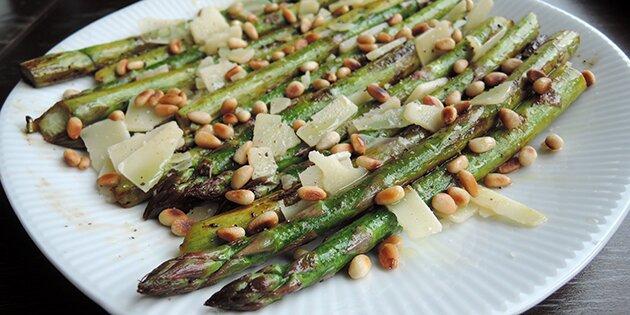 asparges opskrift