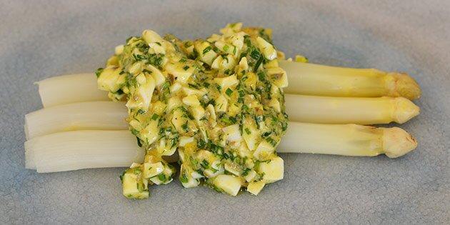 opskrifter med hvide asparges