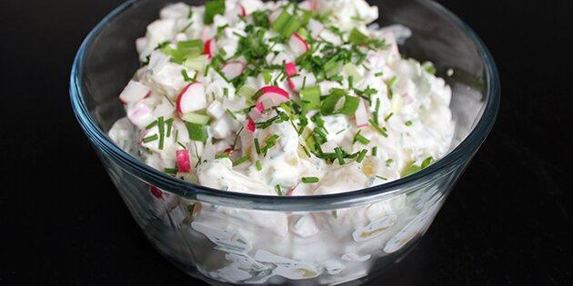 dressing til kartoffelsalat