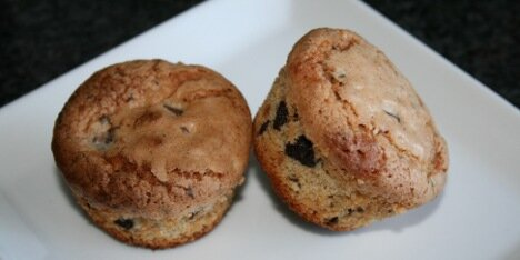 Muffins med makroner