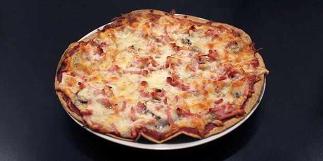 nem og hurtig pizzadej