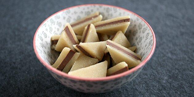 konfekt marcipan nougat