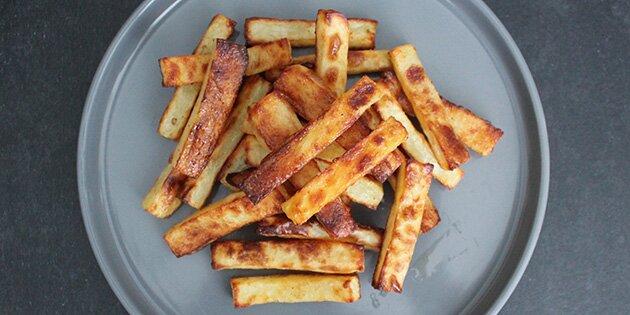 pommes frites i ovn varmluft