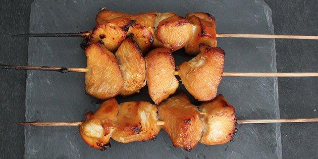 grillspyd i ovn kylling