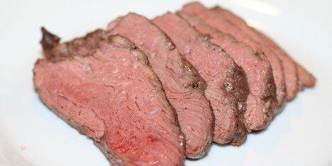 lækkert kød til gæster