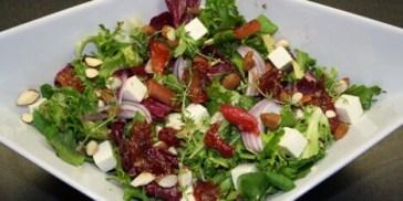 Salater med feta